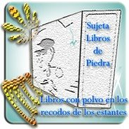 sujeta-libros